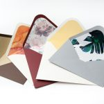 design envelopes with lining